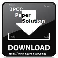 download ipcc paper solution
