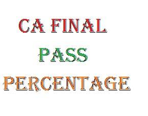 ca final Pass Percentage nov 2016