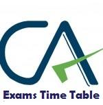 CA Jan-Feb 2021 Exam Schedule